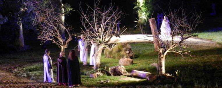 2013 - Spectacle son et lumière à Montrevel-en-Bresse